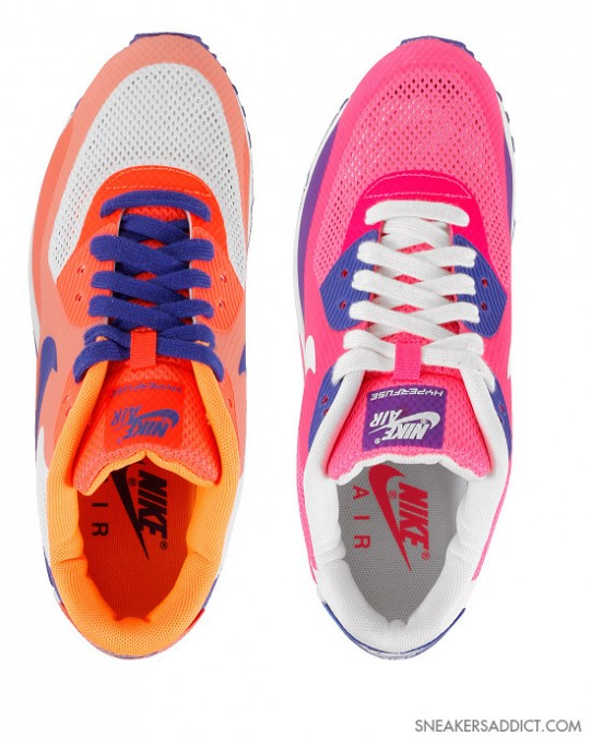 Nike WMNS Air Max 90 Hyperfuse PRM Two Colorways | Sole