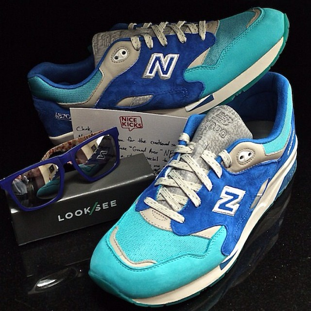 DJ Clark Kent Picks Up Nice Kicks x New Balance 1600 Grand Anse