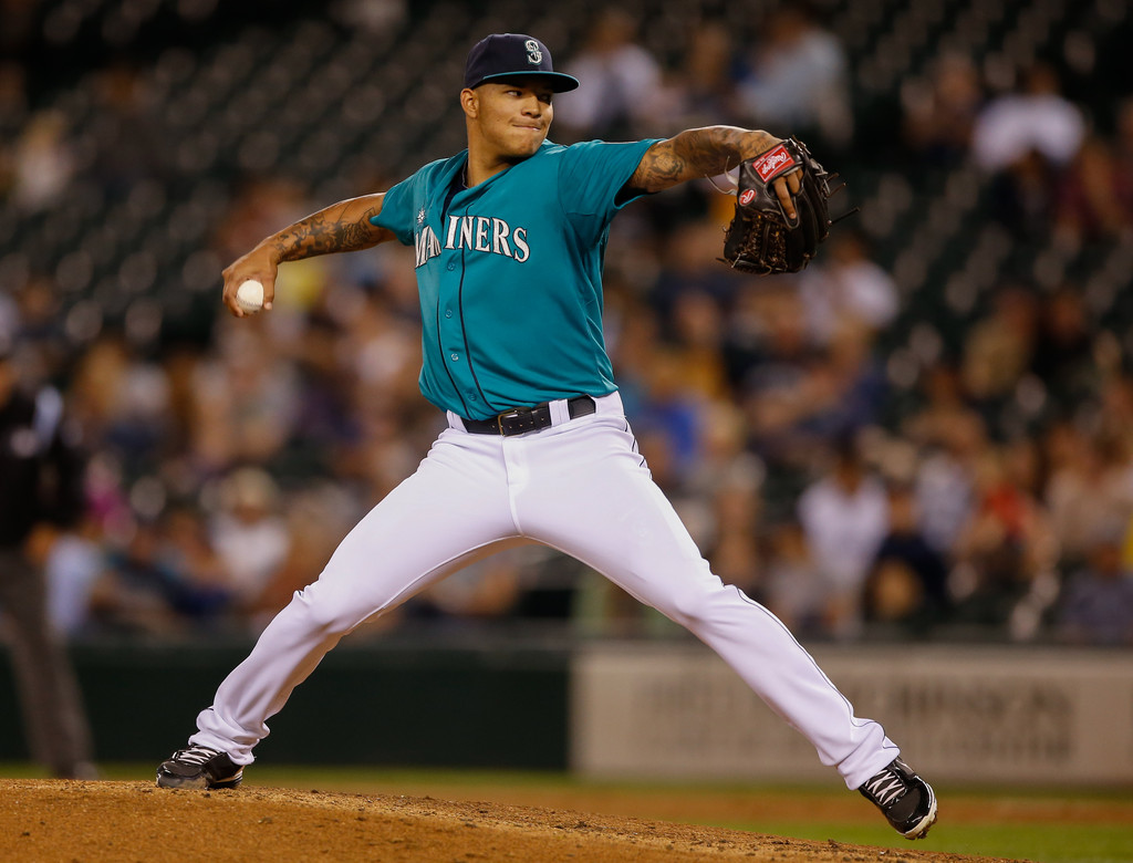 MLB Watch Taijuan Walker Jordan Black Cat