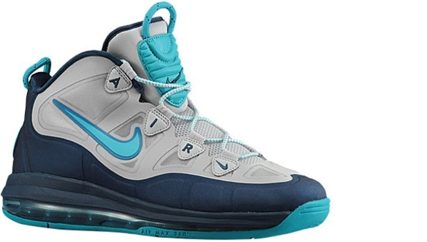 Nike Air Max Uptempo Fuse 360 Pure Platinum/Sport Turquoise-Squadron Blue-Neo Turquoise