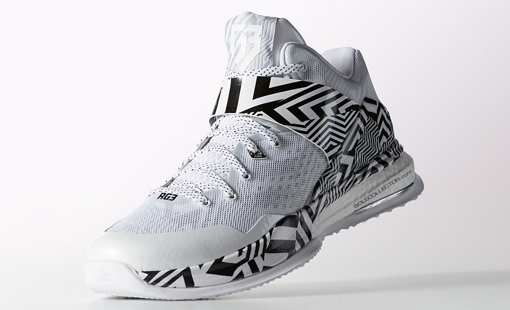 adidas RG3 Boost Trainer White/Black Carmouflage (4)