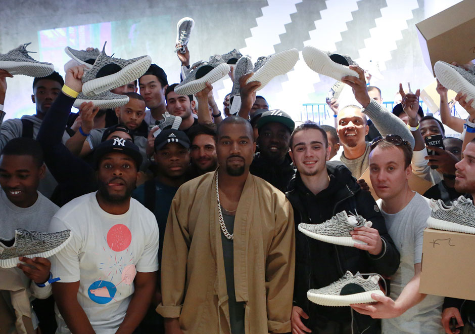 b0afd5ef6a6 Kanye West Wants the Yeezy 350 To Be As Iconic As The Air Force 1 ...