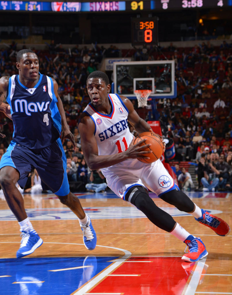 Jrue Holiday wearing adidas Crazy Shadow PE