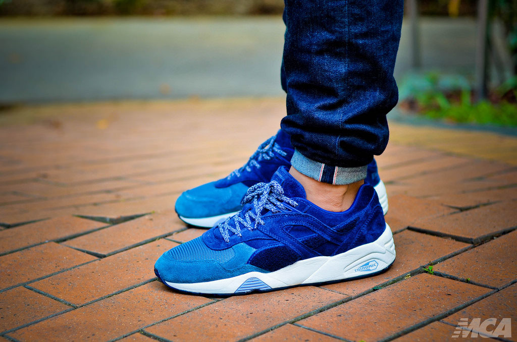 foshizzles in the 'Bluefield Project' BWGH x PUMA R698 Trinomic
