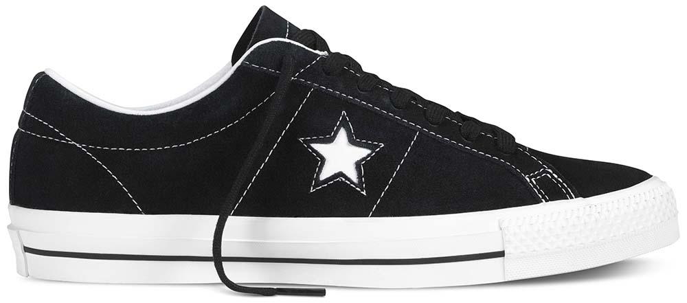 Converse Cons One Star Pro Black/White