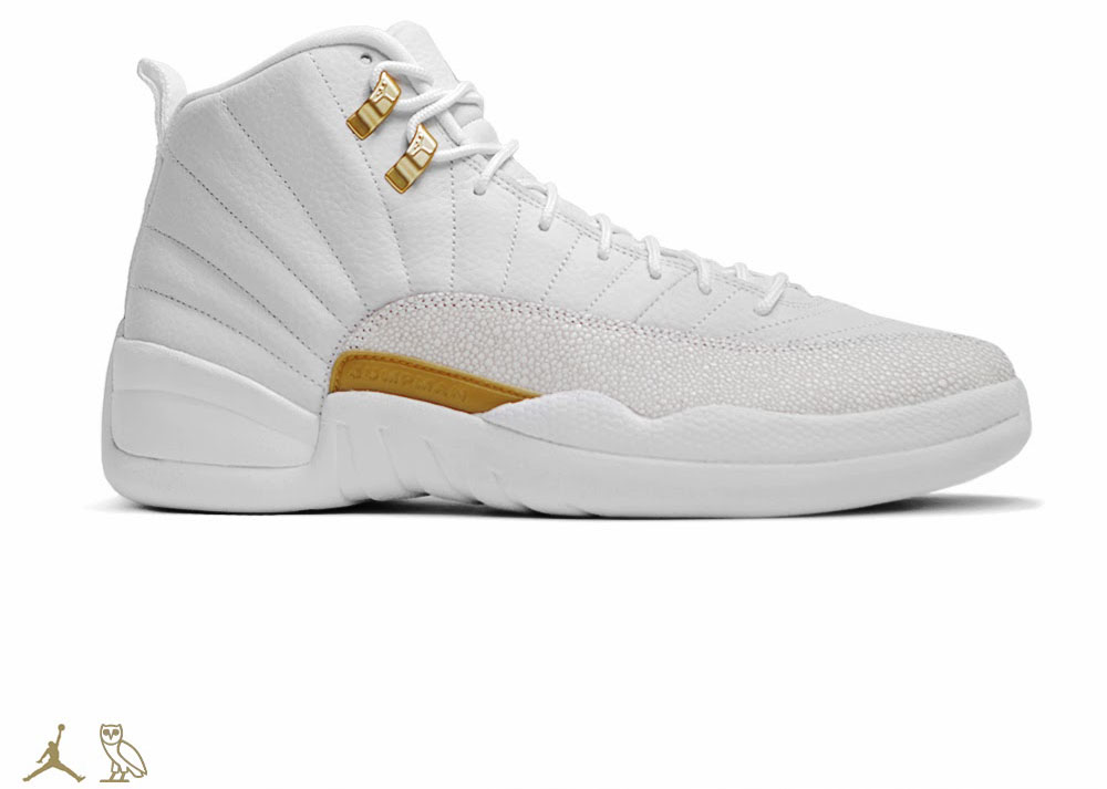OVO x Air Jordan 12 White (2)