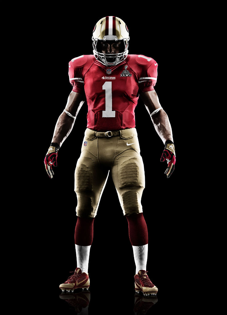 Nike Elite 51 Super Bowl XLVII Uniforms for San Francisco 49ers (1)
