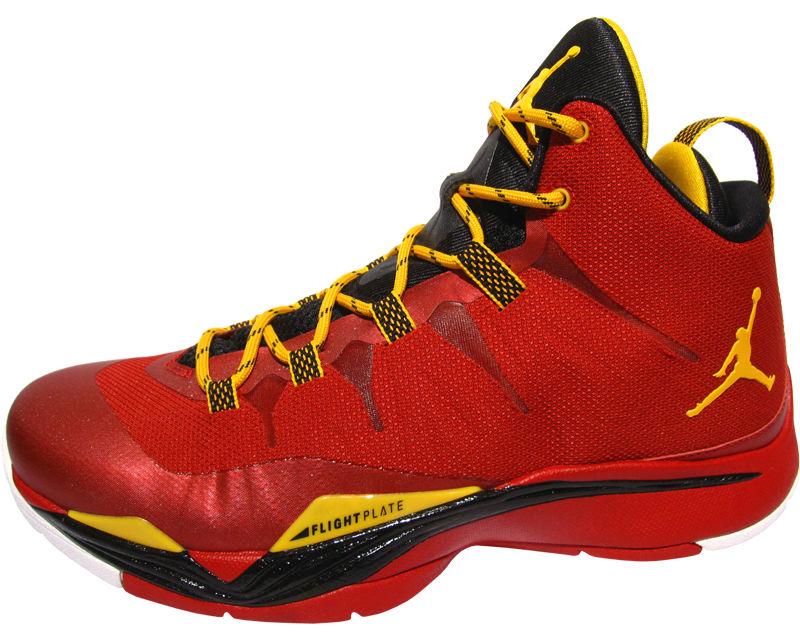 55d2afaf66d1bb Jordan Super.Fly 2 Red Black Yellow 599945-627 (1)