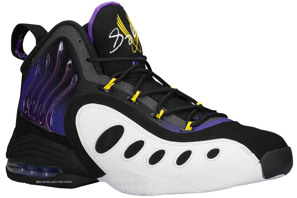 Nike Zoom Sonic Flight Lakers 641333-001 (1)