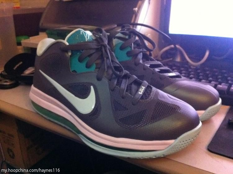 best service 95f5e 3c248 Nike LeBron 9 IX Low Easter Shoes Mint Candy 510811-001 (5)
