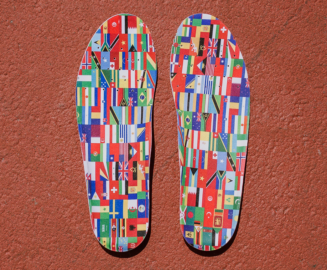 Diadora Packer Shoes Road to Rio insole