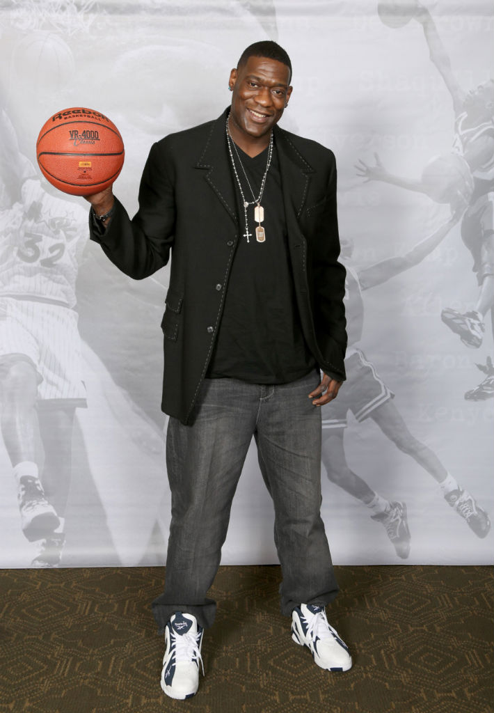 Shawn Kemp Attends Reebok Kamikaze II Re-Launch In Houston (3)