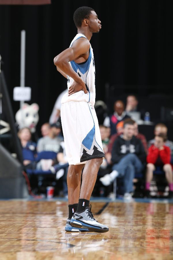 Andrew Wiggins wearing adidas Crazylight Boost PE (2)