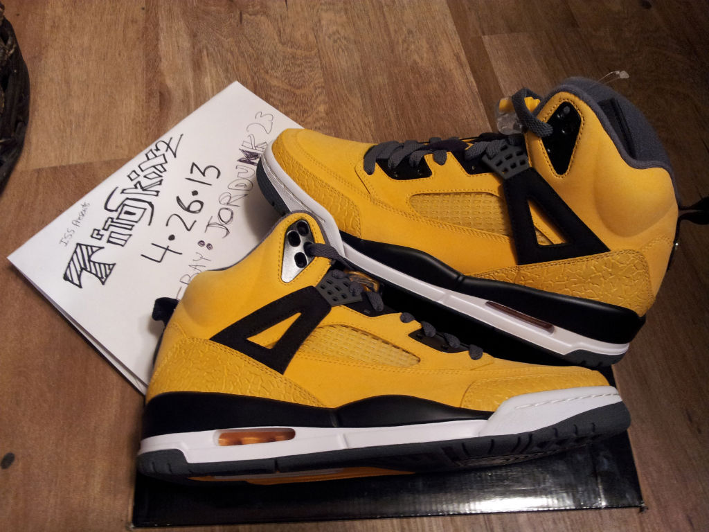 Jordan Spizike - University Gold Sample (1)