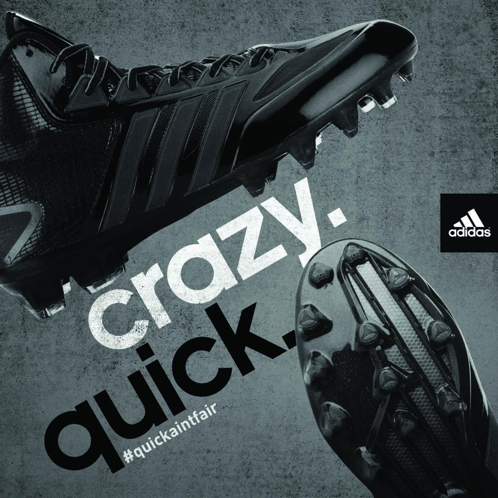 adidas Crazyquick Cleats Blackout