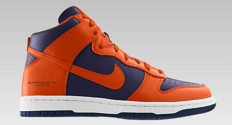 Nike Lets You Design Denver Broncos Sneakers to Celebrate Super ...