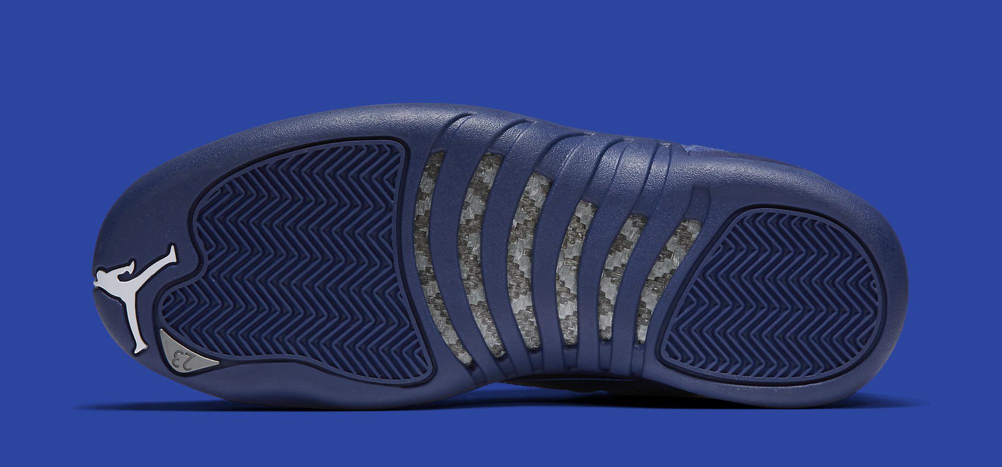 Blue Jordan 12 Sole