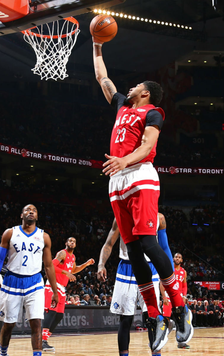Anthony Davis Wearing the Nike Air Max Audacity (1)