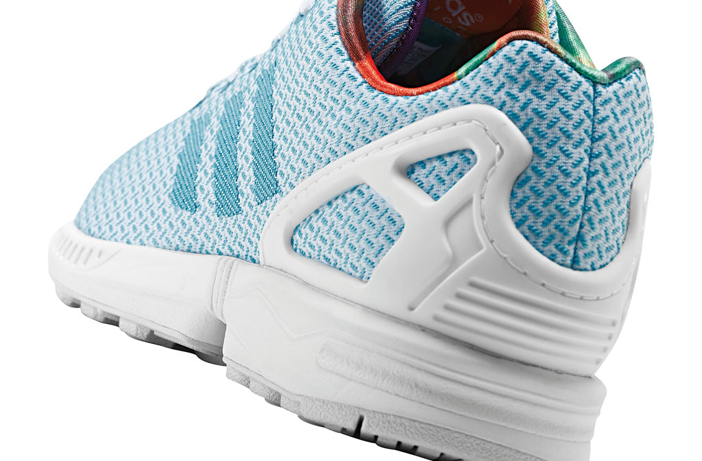 adidas ZX Flux Women's Weave Pack Blue (4)