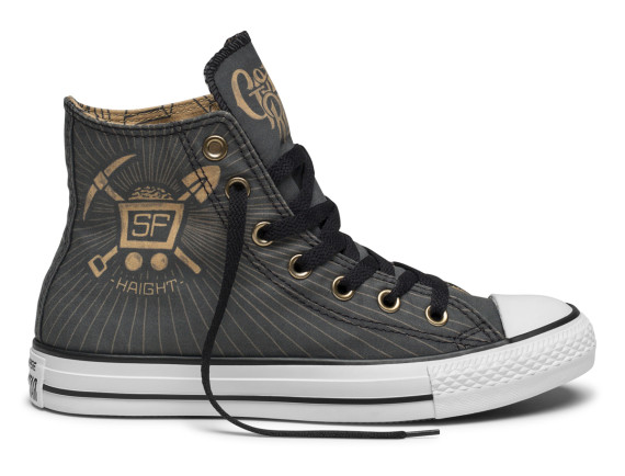 Shoe Biz x Converse Chuck Taylor All Star - San Francisco Moments Collection - Gold Rush
