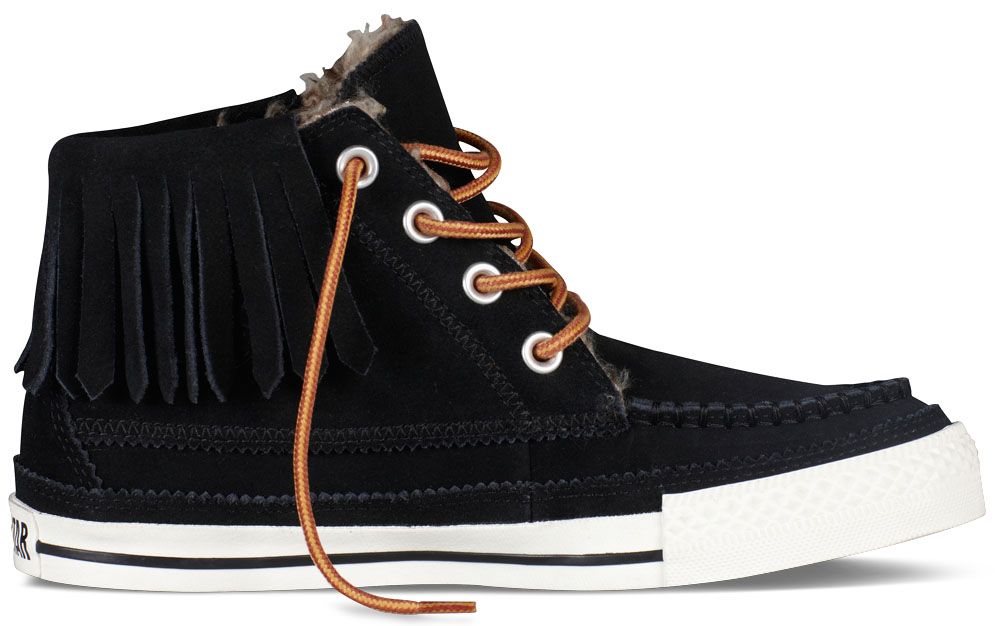Converse Women's Chuck Taylor Moccasin Black (1)