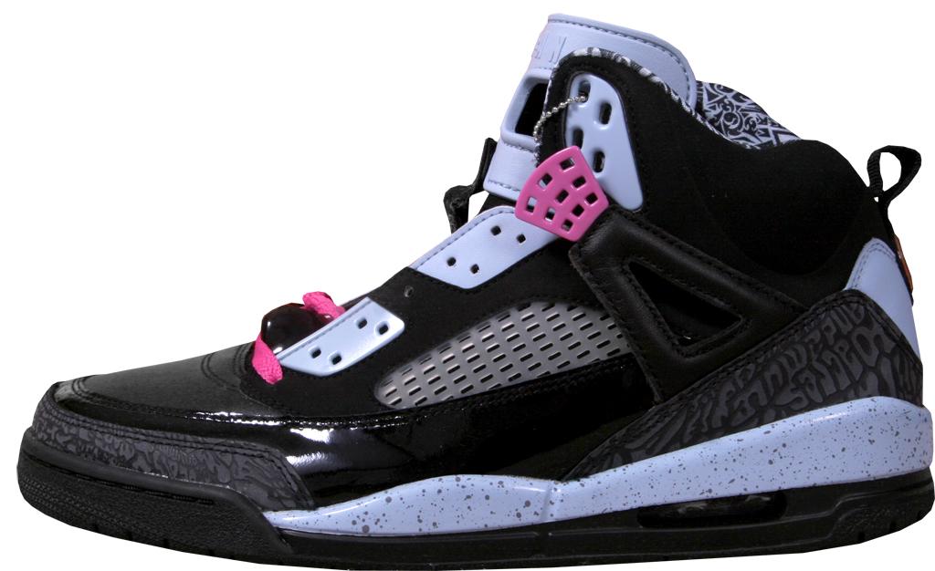 quality design 3ceb7 bef0a Jordan Spiz ike Women s 317574-062 Black Pink Fire-Ice Blue