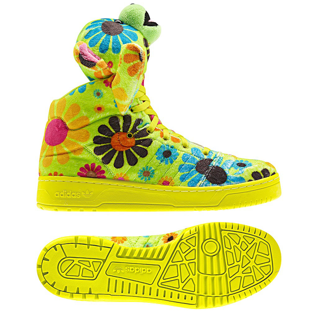 adidas jeremy scott bear flower power