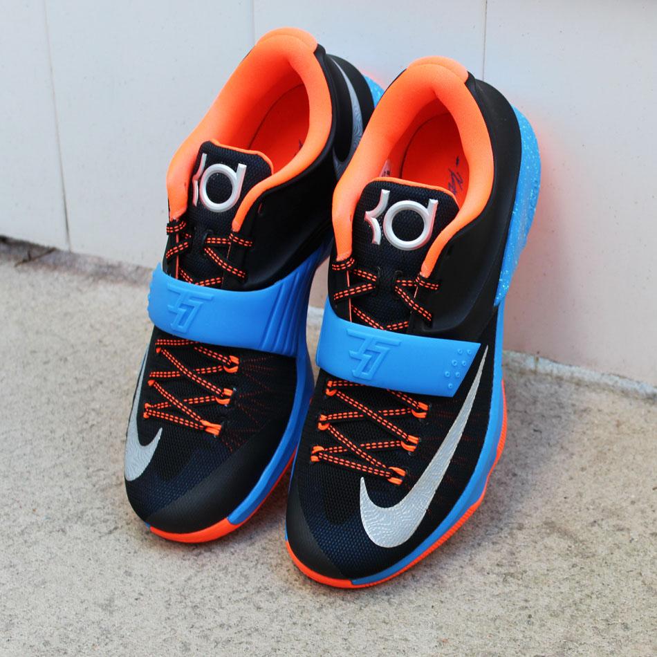 sports shoes 890bf 250f5 Nike KD VII 7 OKC Away 653996-004 (8)