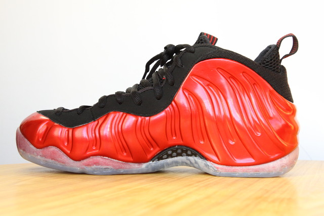 Nike Air Foamposite One Metallic Red Black 314996-610 2