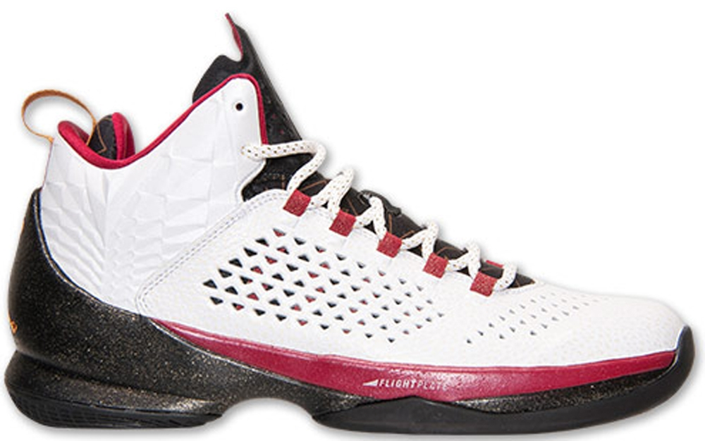 Jordan Melo M11 White/Bronze-Black-Cardinal Red