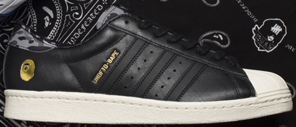 adidas Consortium Superstar 80s Black/Gold-Grey Camo