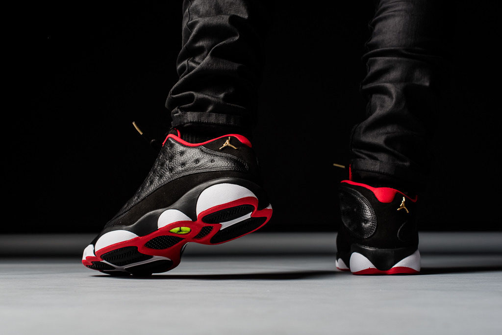 new arrival a7ed3 3150d Air Jordan XIII 13 Low Bred 310810-027 (6)