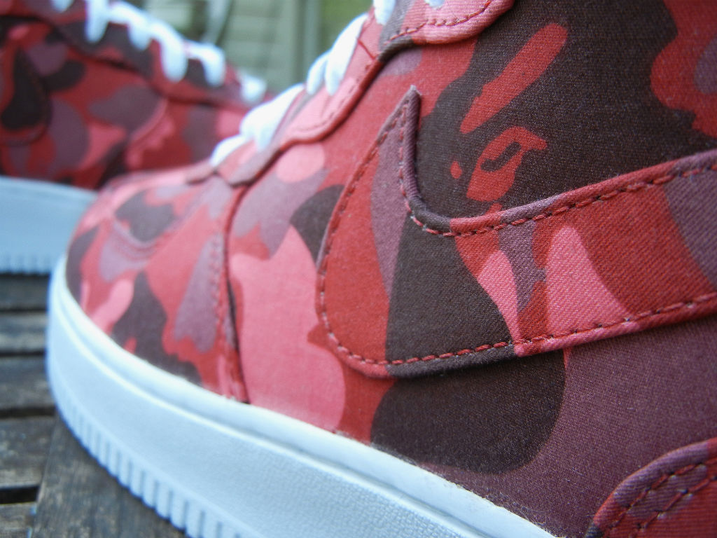 Nike Air Force 1 Mid BAPE By JBF Customs (5)