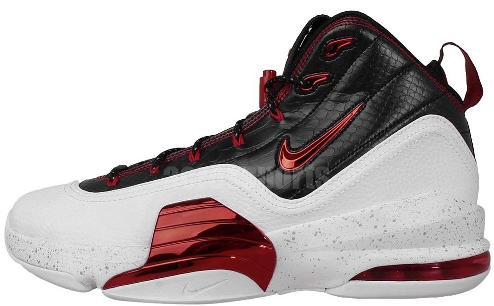 Nike Air Pippen VI White/University Red-Black