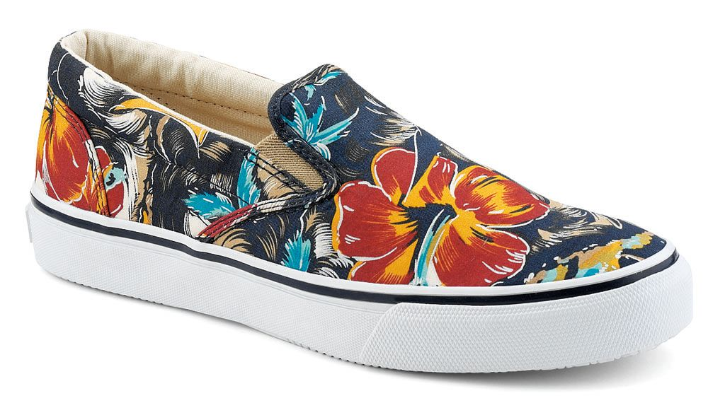 Sperry Top-Sider Hawaiian Print Striper Slip On Pack (2)