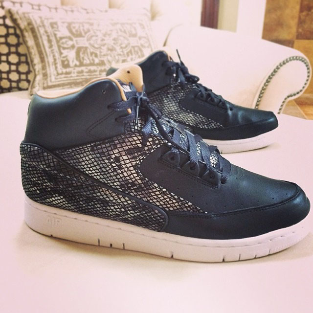 Joe Haden Picks Up Nike Air Python Lux