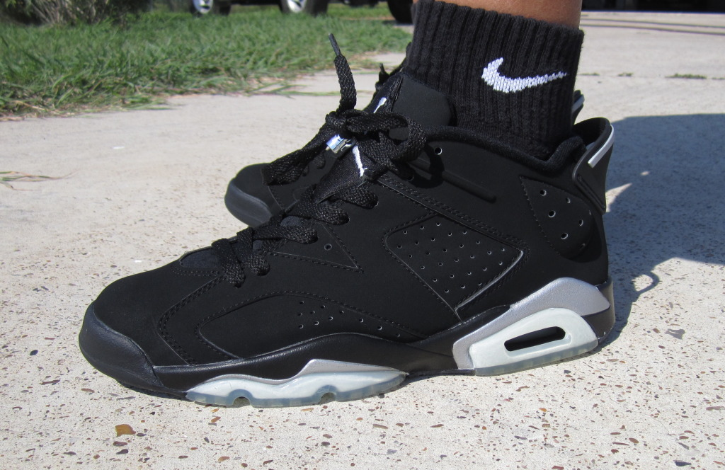 Air Jordan VI 6 Low BlackMetallic 2002