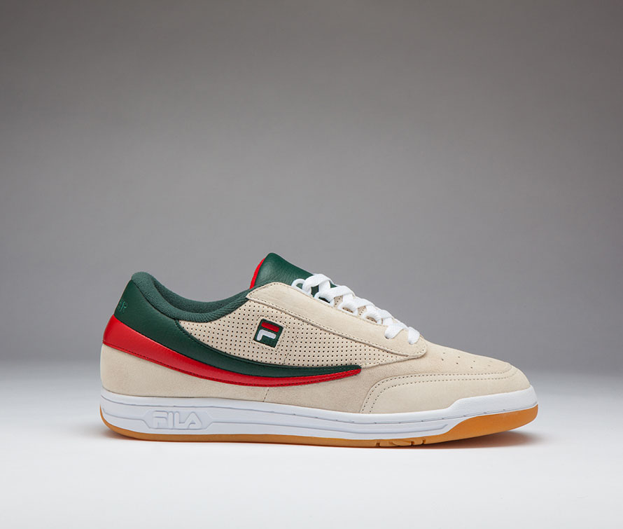 packer shoes fila collaborated with the tennis of