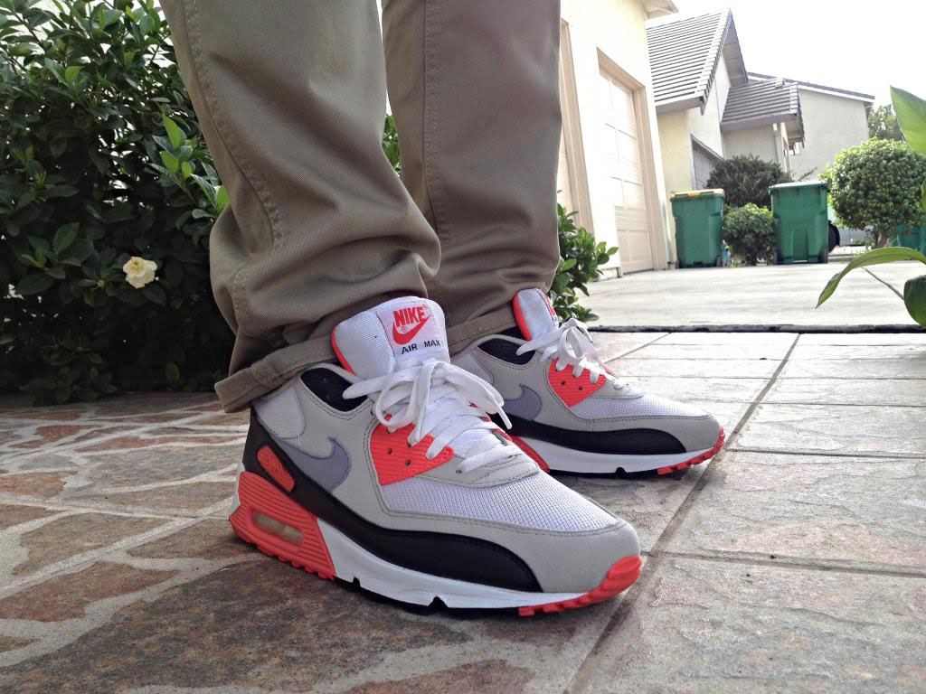 illestMF in the 'Infrared' Nike Air Max 90
