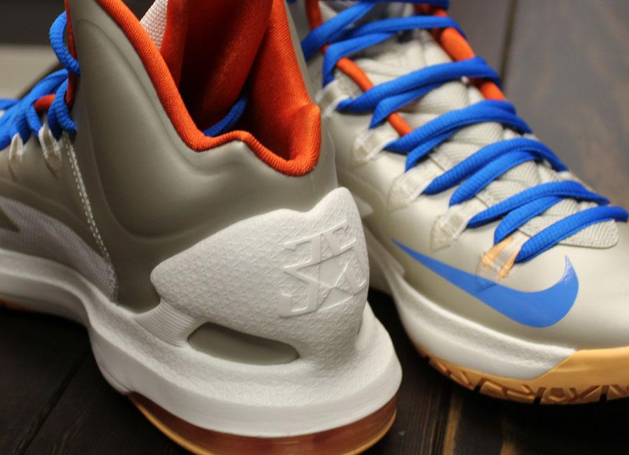 timeless design 39763 73f36 Nike KD V- Birch Photo Blue-Team Orange