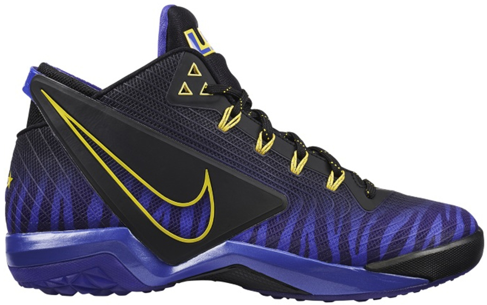 Nike Zoom Field General Black/Persian Violet-Tour Yellow