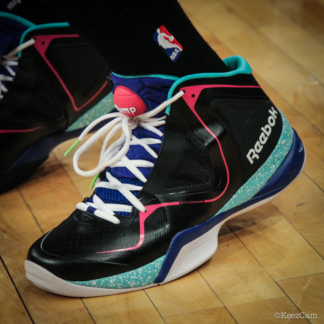 Sole Watch: Up Close At MSG for Knicks vs Nets - Jason Terry wearing Reebok Pumpspective Omni