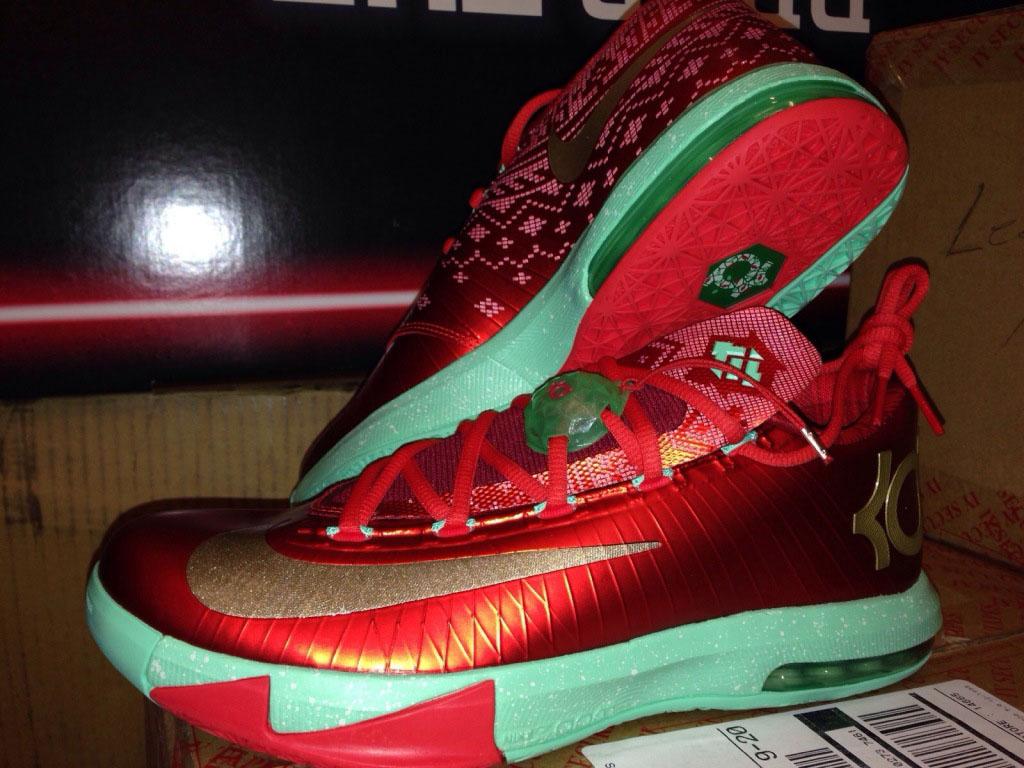 46738be9afe Nike KD 6 -  Christmas