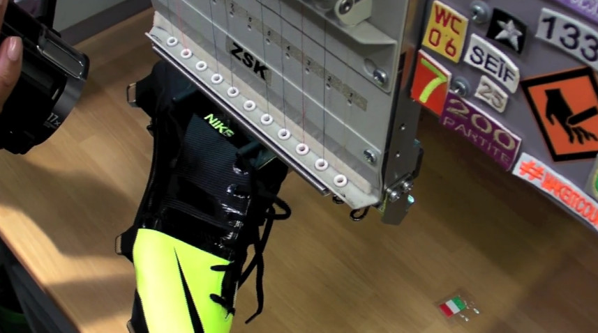 A behind-the-scenes look at the making of the new Nike GS football booth b89a690412a73