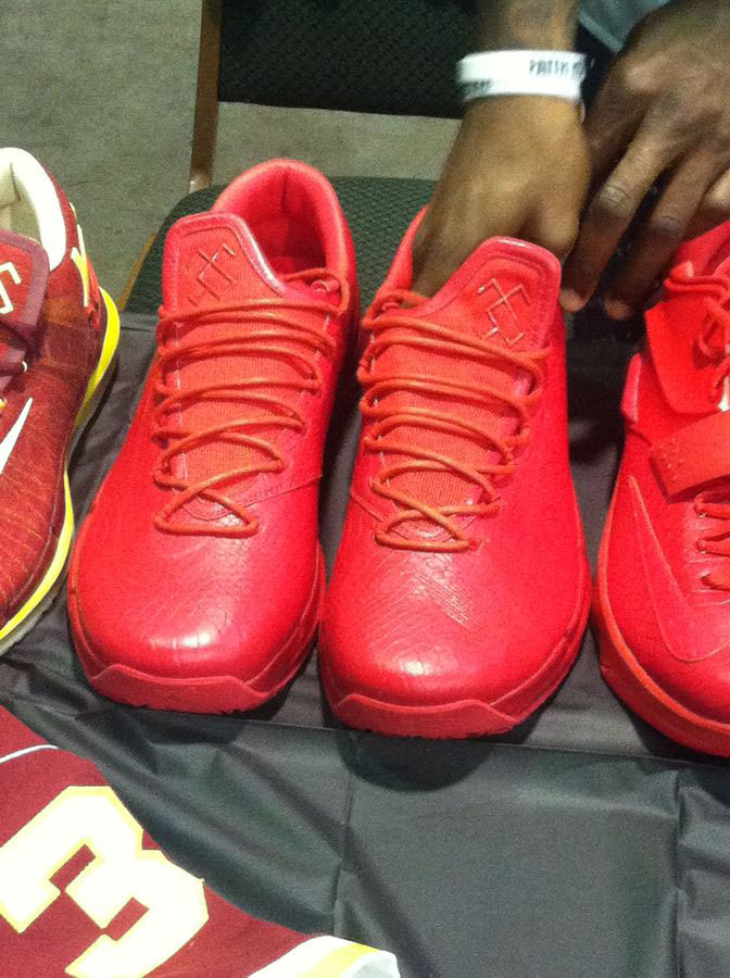 Randy Williams Displays Rare Nike KD Shoes (12)