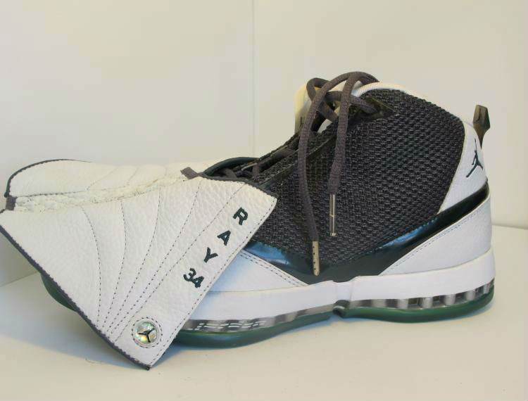 Air Jordan XVI Ray Allen Milwaukee Bucks Home PE (1)