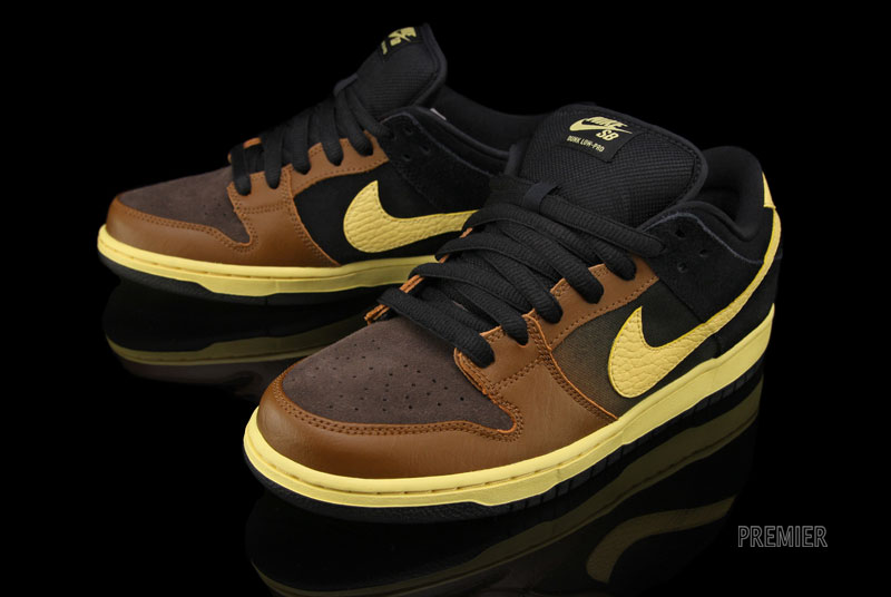 Nike Dunk Low Black And Tan  84e4e22857