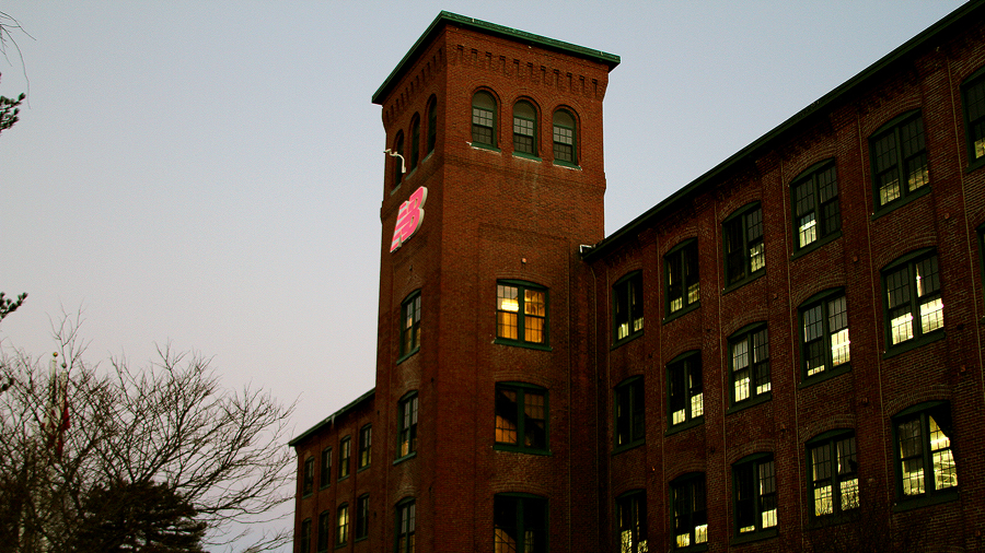 556552c9740e Inside the New Balance Shoe School in Skowhegan Maine