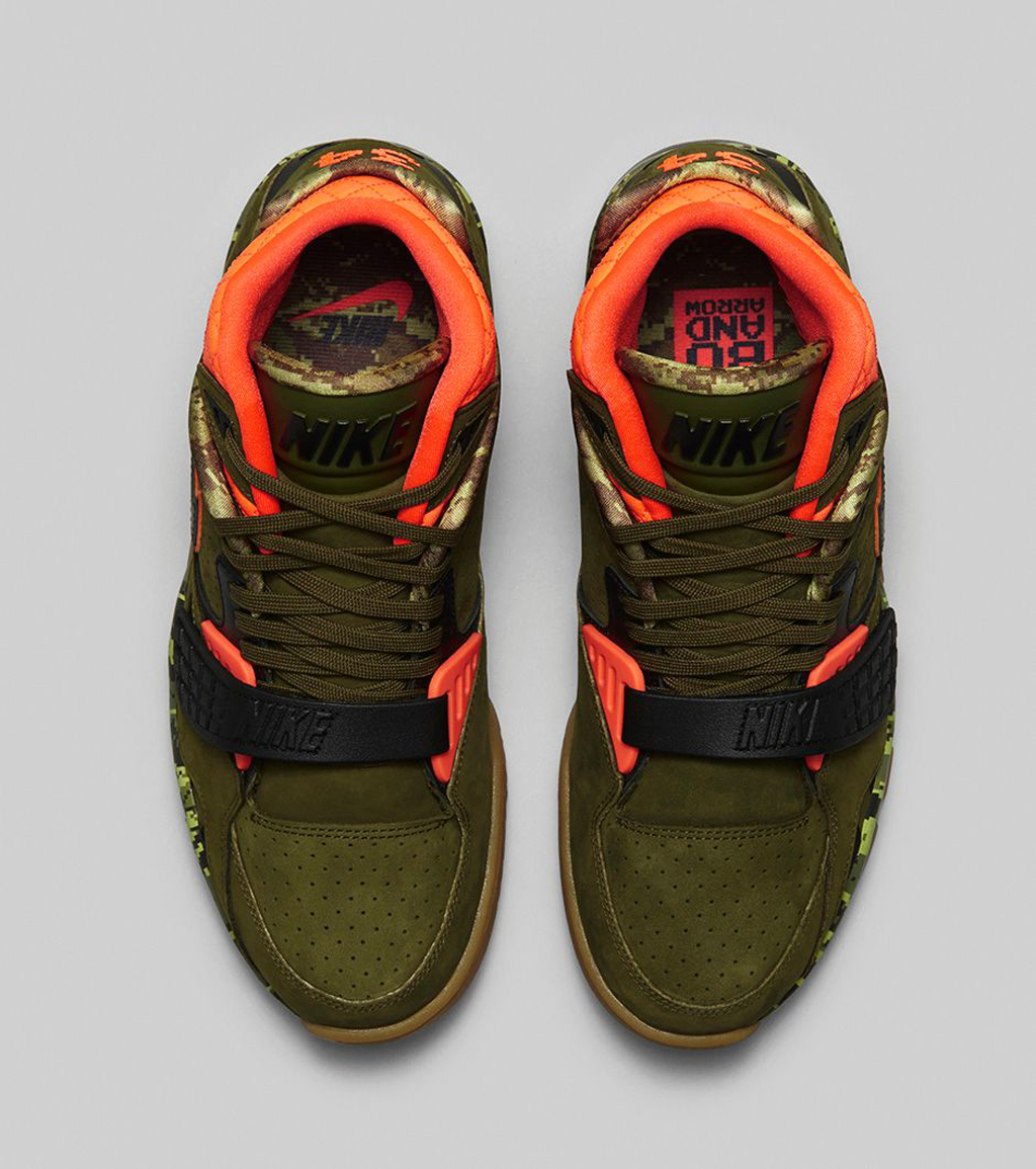 cced22baa5b84 The  Bo s Bow and Arrows  Nike Air Trainer SC II Premium hits nike.com as  well as select Nike Sportswear retailiers on Saturday