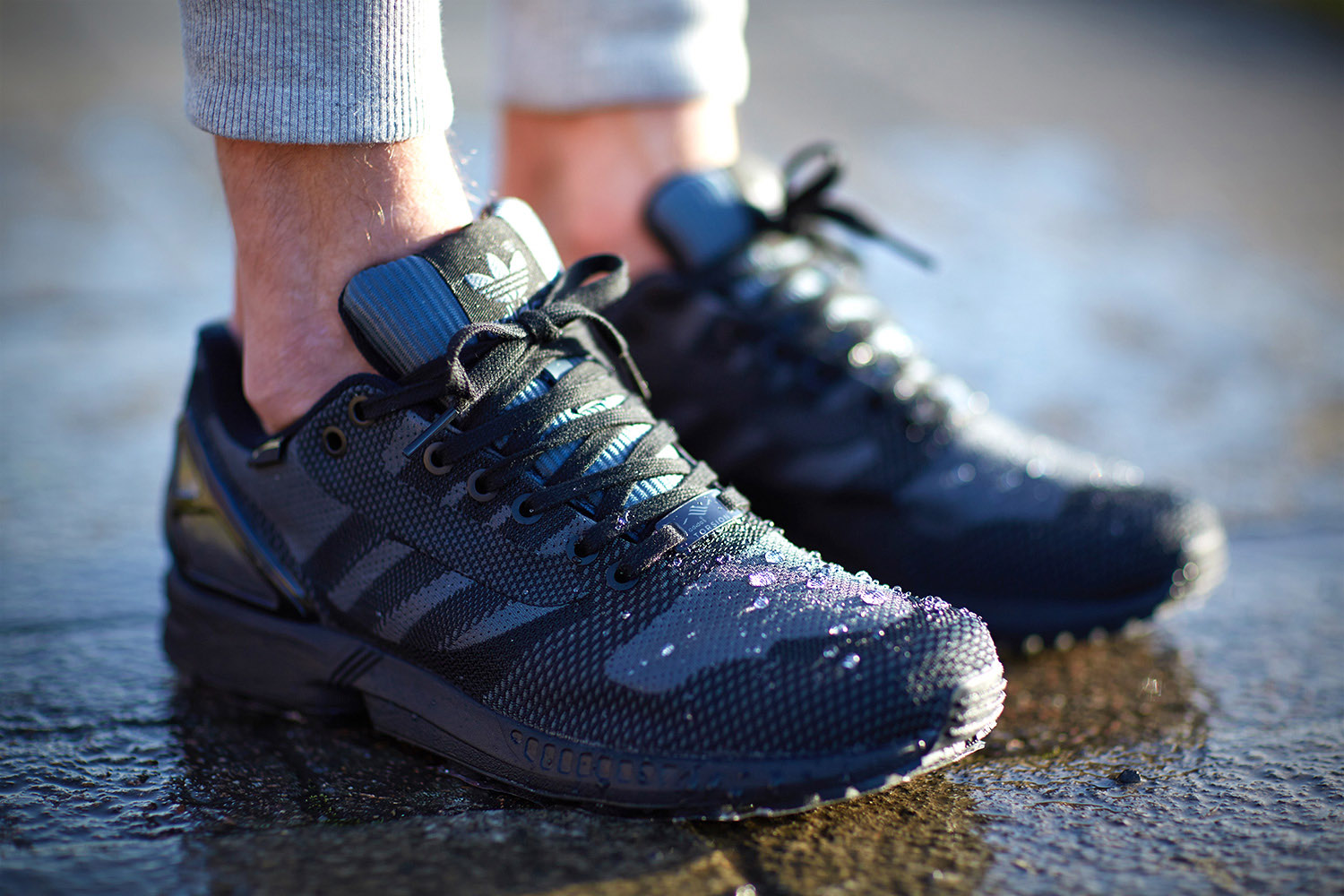 The adidas ZX Flux Weave Is Ready for Winter | Sole Collector